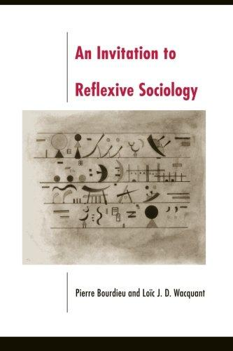 Loic Wacquant Invitation to Reflexive Sociology